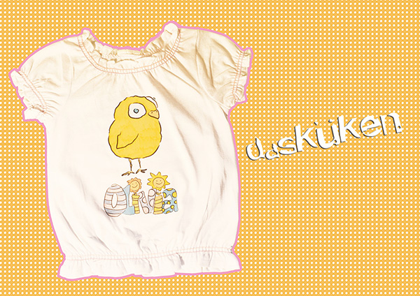 Olivia 'Das Küken' DIY-Design Textildruck | made by Chaoskind
