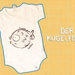Ruben 'Der Kugelfisch' DIY-Design Textildruck | made by Chaoskind