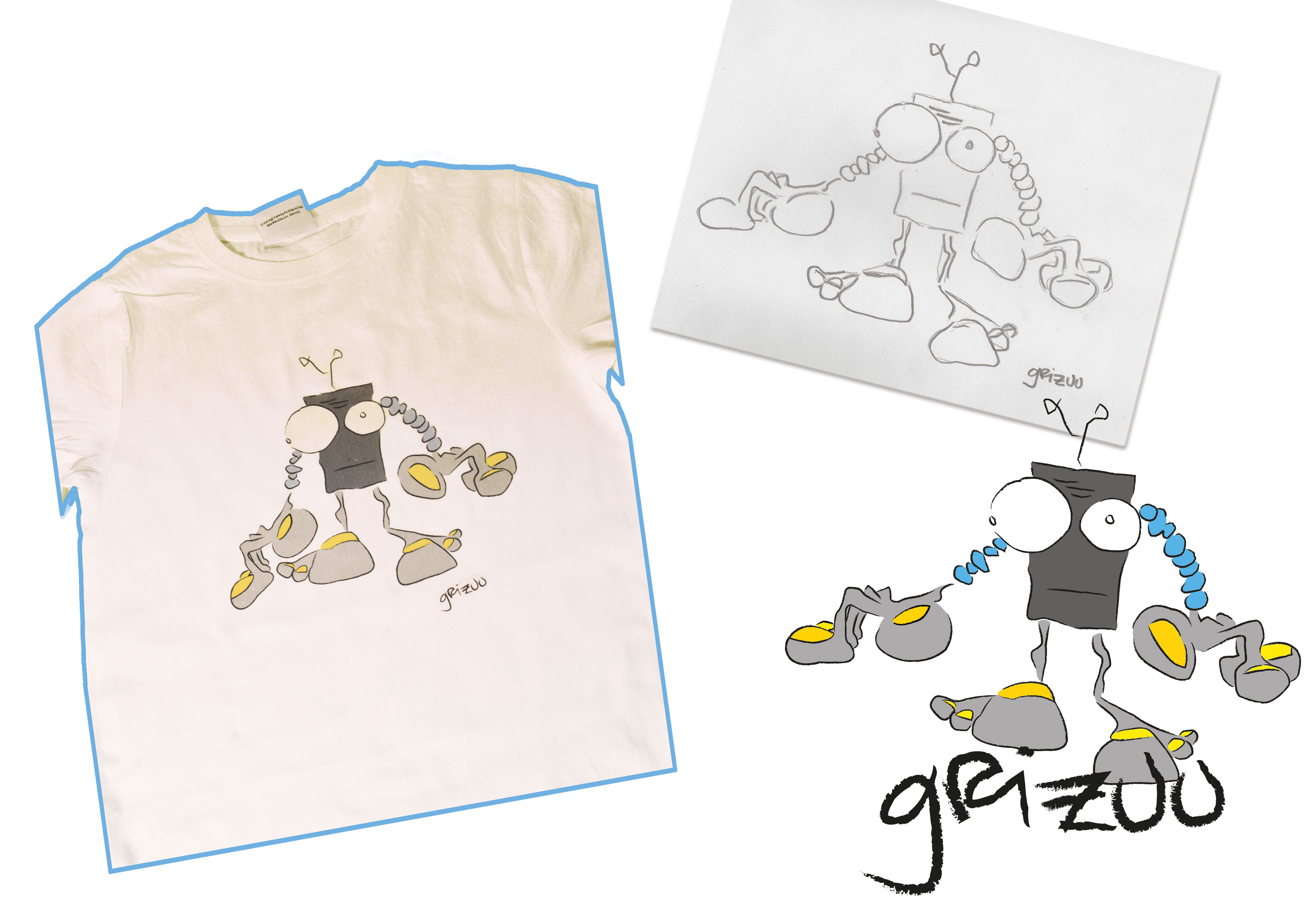 'Grizuu' Artwork made by chaoskind