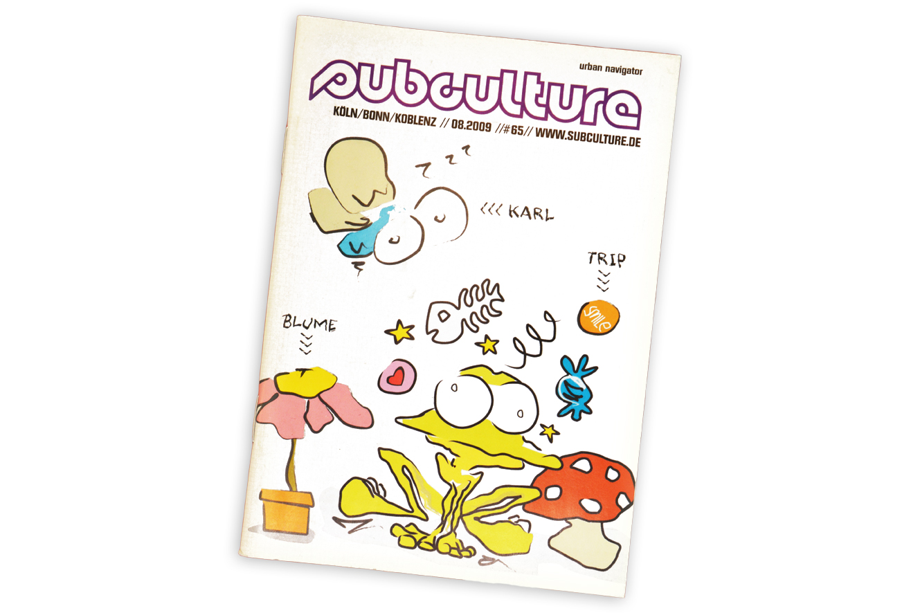 Subculture Magazin Cover by Chaoskind