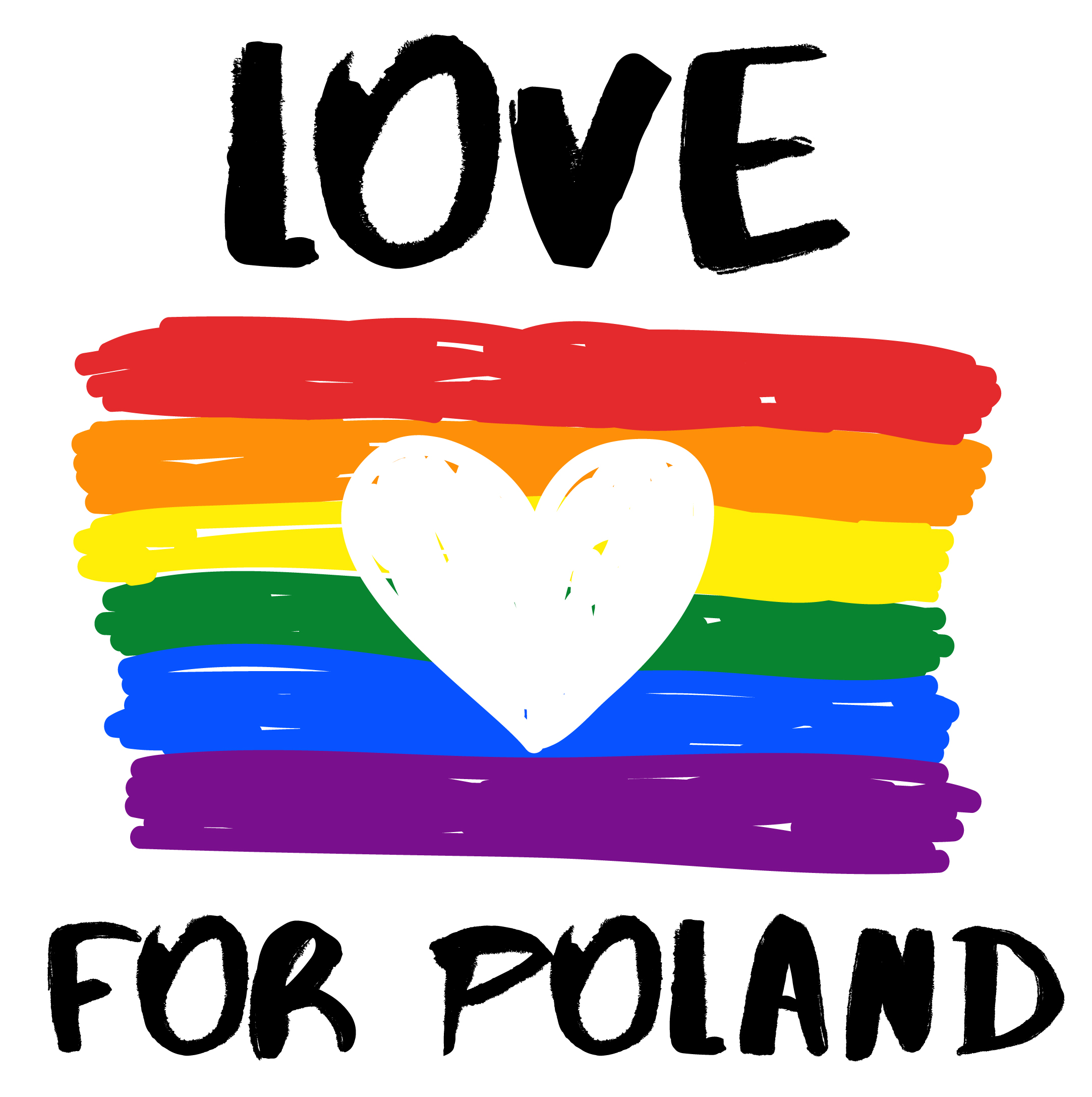 LOVE FOR POLAND - Banner