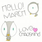 Hello March! Vektordatei by Chaoskind