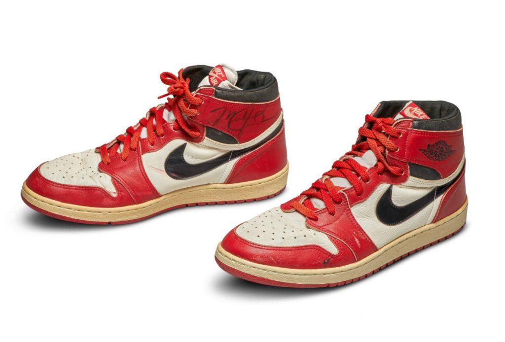 Nike-Air-Jordan-1S-(1985)   Foto by Sothebys