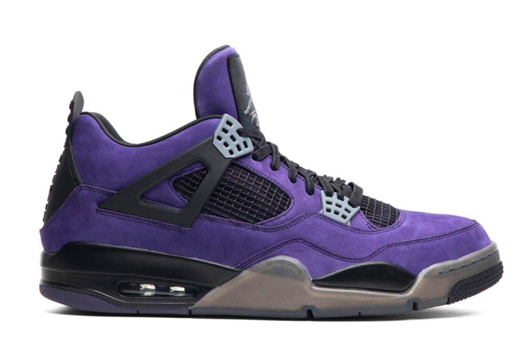 Travis-Scott-x-Air-Jordan-4-Retro-'Purple'